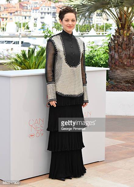 Actress Marion Cotillard attends 'It's Only The End Of The World ' during the Photocall - The 69th Annual Cannes Film Festival on May 19, 2016 in...