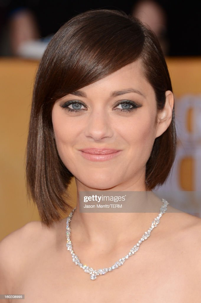 Actress Marion Cotillard attends the 19th Annual Screen Actors Guild Awards at The Shrine Auditorium on January 27, 2013 in Los Angeles, California. (Photo by Jason Merritt/WireImage) 23116_014_2349.jpg