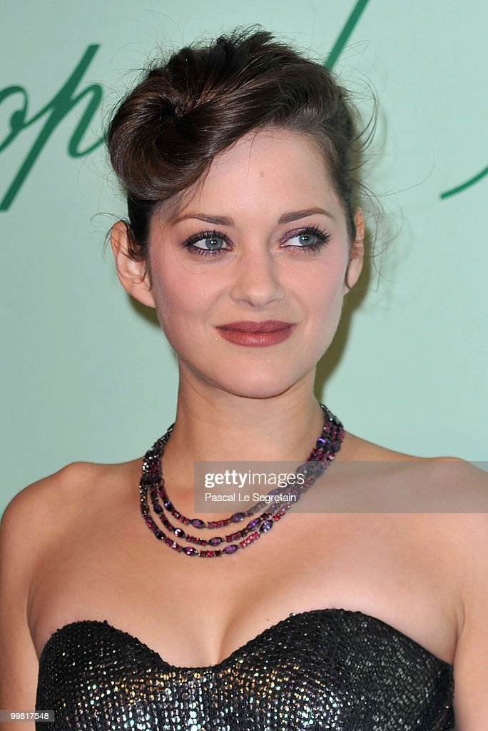 Actress Marion Cotillard attends the Chopard 150th Anniversary Party at Palm Beach, Pointe Croisette during the 63rd Annual Cannes Film Festival on May 17, 2010 in Cannes, France.