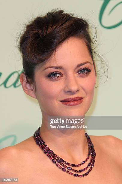 Actress Marion Cotillard attends the Chopard 150th Anniversary Party at the VIP Room Palm Beach during the 63rd Annual International Cannes Film...