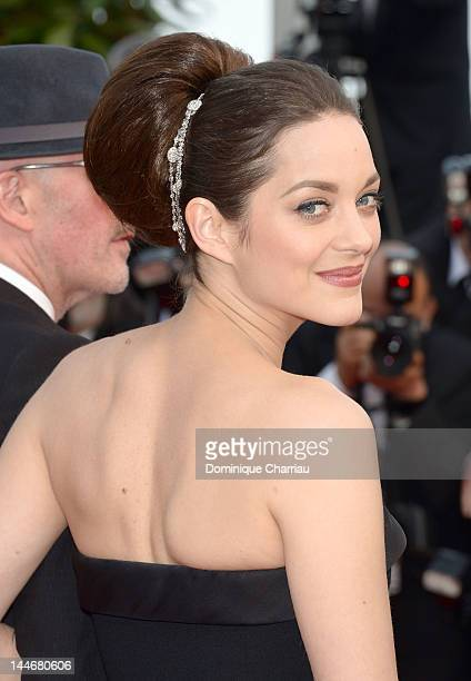"""Actress Marion Cotillard attends the """"De Rouille et D'os"""" Premiere during the 65th Annual Cannes Film Festival at Palais des Festivals on May 17,..."""