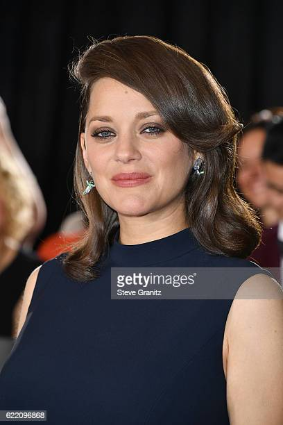 Actress Marion Cotillard attends the fan event for Paramount Pictures' 'Allied' at Regency Village Theatre on November 9 2016 in Westwood California