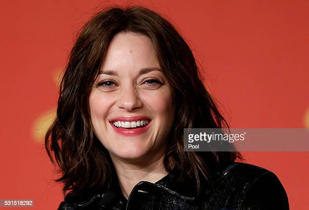 Actress Marion Cotillard attends the 'From The Land And The Moon ' Press Conference during the 69th annual Cannes Film Festival at the Palais des...