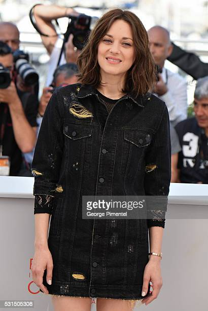 Actress Marion Cotillard attends the From The Land Of The Moon Photocall at the annual 69th Cannes Film Festival at Palais des Festivals on May 15...