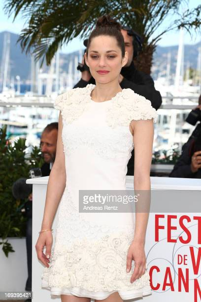 Actress Marion Cotillard attends 'The Immigrant' photocall during The 66th Annual Cannes Film Festival at he Palais des Festivals on May 24 2013 in...