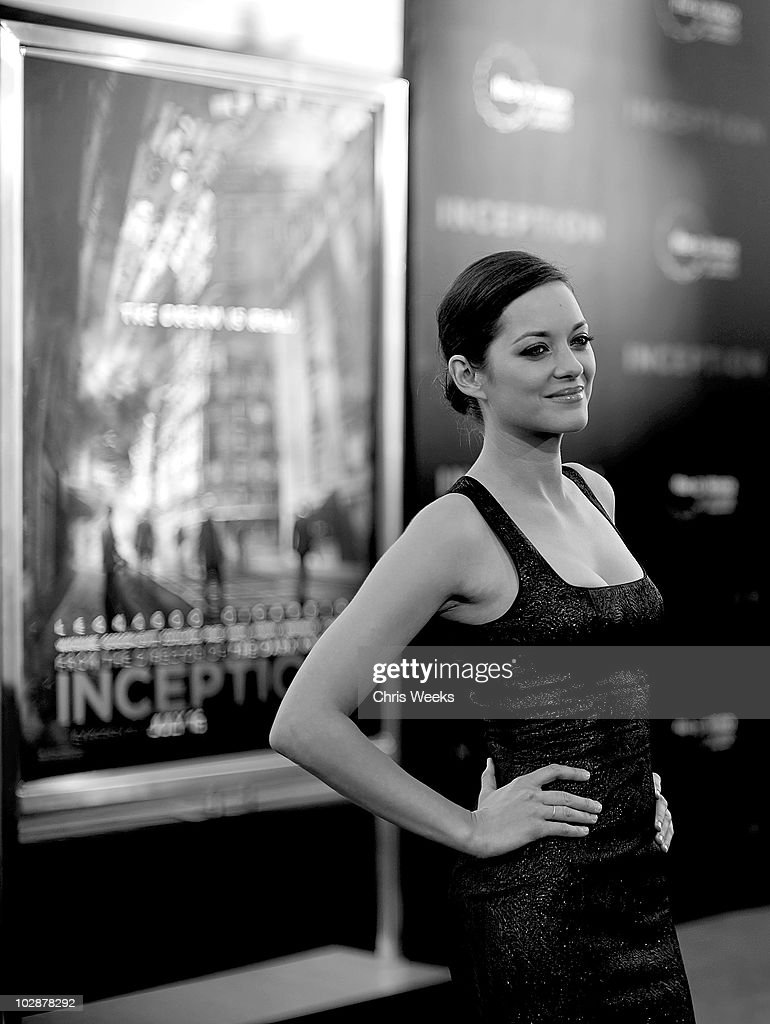 Actress Marion Cotillard Attends The Inception Los Angeles