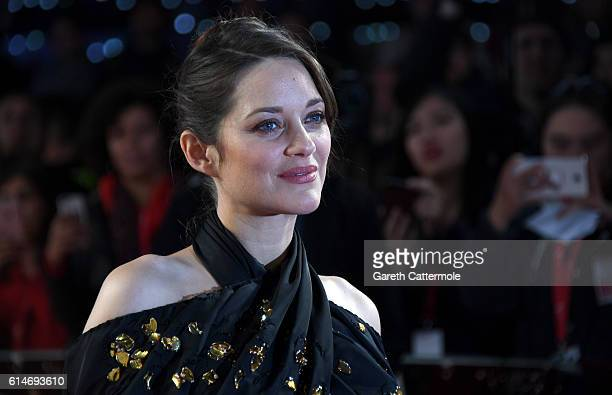 Actress Marion Cotillard attends the 'It's Only The End Of The World' BFI Flare Special Presentation screening during the 60th BFI London Film...