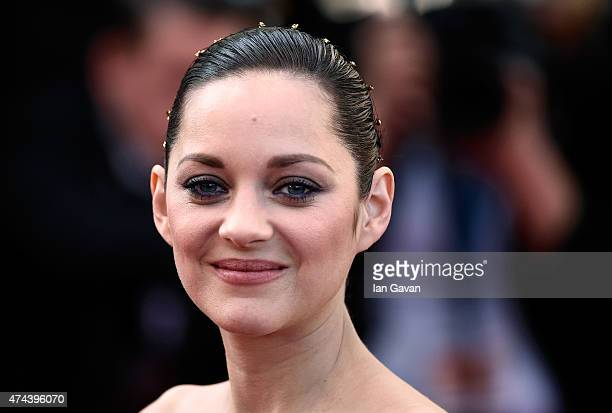 Actress Marion Cotillard attends the Premiere of The Little Prince during the 68th annual Cannes Film Festival on May 22 2015 in Cannes France