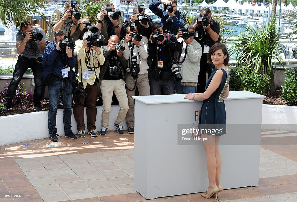 Actress Marion Cotillard attends the press conference for 'Blood Ties' during The 66th Annual Cannes Film Festival at Palais des Festivals on May 20, 2013 in Cannes, France.