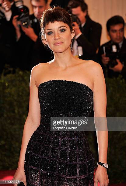 Actress Marion Cotillard attends the Schiaparelli And Prada Impossible Conversations Costume Institute Gala at the Metropolitan Museum of Art on May...