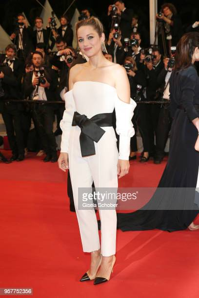 Actress Marion Cotillard attends the screening of '3 Faces ' during the 71st annual Cannes Film Festival at Palais des Festivals on May 12 2018 in...
