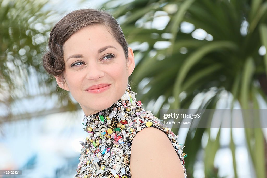 Actress Marion Cotillard attends the 'Two Days, One Night' photocall at the 67th Annual Cannes Film Festival on May 20, 2014 in Cannes, France.