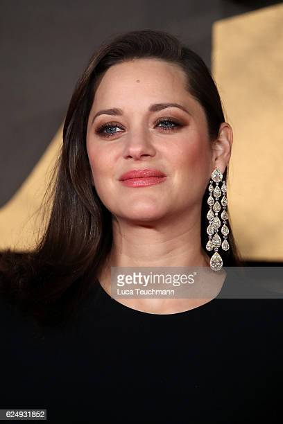 Actress Marion Cotillard attends the UK Premiere of Allied at Odeon Leicester Square on November 21 2016 in London England