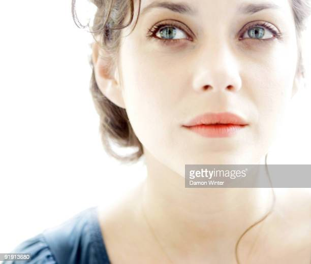 Actress Marion Cotillard is photographed at the Four Seasons Hotel in Beverly Hills CA on April 16 2007 for the Los Angeles Times CREDIT MUST READ...