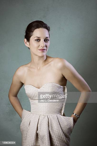 Actress Marion Cotillard is photographed for Los Angeles Times on November 3 2012 in Los Angeles California PUBLISHED IMAGE PUBLISHED IMAGE CREDIT...