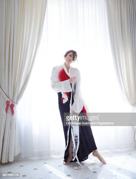 Actress Marion Cotillard is photographed for Madame Figaro on May 4 2017 at Le Bristol hotel in Paris France Kimono lingerie PUBLISHED IMAGE CREDIT...