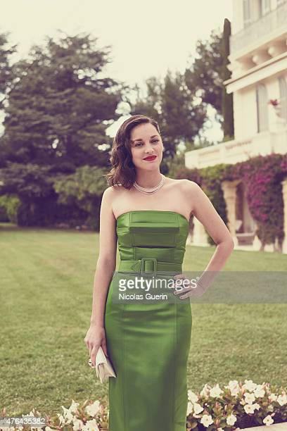 Actress Marion Cotillard is photographed for Self Assignment on May 15 2015 in Cannes France