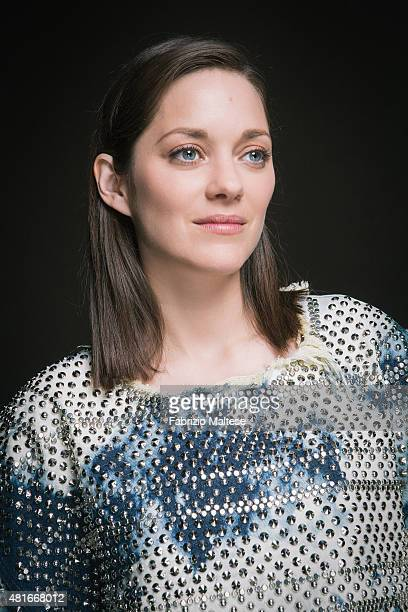 Actress Marion Cotillard is photographed for The Hollywood Reporter on May 15 2015 in Cannes France