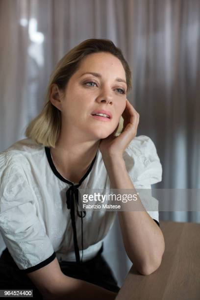 Actress Marion Cotillard is photographed for The Hollywood Reporter on May 2018 in Cannes France
