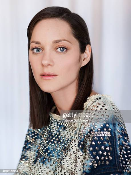 Actress Marion Cotillard is photographed for Vanity Faircom on May 15 2015 in Cannes France