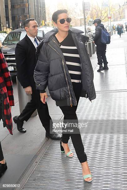 Actress Marion Cotillard is seen on December 13 2016 in New York City