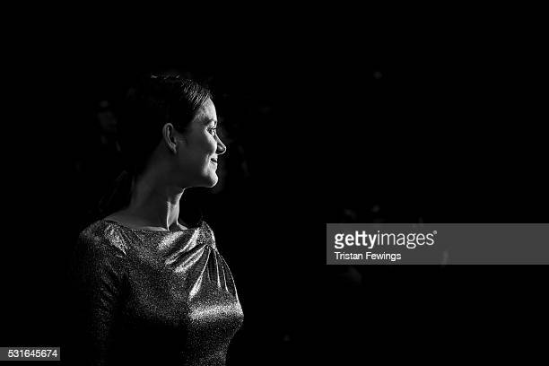 Actress Marion Cotillard leaves the From The Land Of The Moon premiere during the 69th annual Cannes Film Festival at the Palais des Festivals on May...