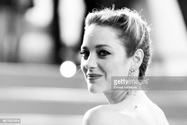 Actress Marion Cotillard of the film 'Angel Face' attends the screening of '3 Faces ' during the 71st annual Cannes Film Festival at on May 12 2018...