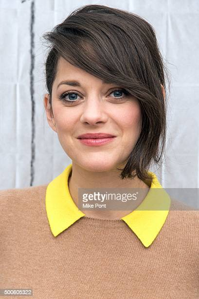 Actress Marion Cotillard visits the AOL BUILD Series to discuss the film 'Mac Beth' at AOL Studios In New York on December 9 2015 in New York City