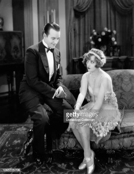 Actress Marion Davies and Harry Crocker in a scene from the movie Tillie the Toiler