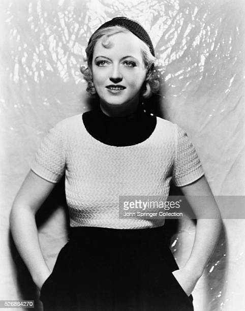 Actress Marion Davies at the time of her appearance in the 1932 movie Polly of the Circus