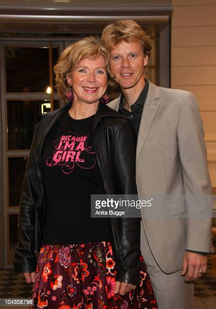 Actress Marion Kracht and hr husband Bertold Manns attend the 'International Girls Day 2010', a Children's Fund event for girls in Third World...