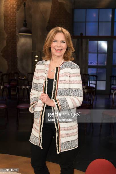 Actress Marion Kracht attends the Koelner Treff TV Show at the WDR Studio on February 16 2018 in Cologne Germany