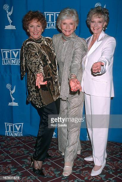 Actress Marion Ross actress Barbara Billingsly and actress June Lockhart attend the 50th Annual Primetime Emmy Awards Creative Arts Emmy Awards on...