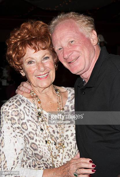 Actress Marion Ross and actor Don Most attend the Scott Baio 1st annual charity golf tournament benefiting The Bailey Baio Angel Foundation at...