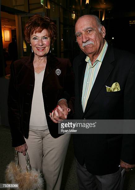 Actress Marion Ross and Paul Michael arrives at the opening night performance of Edward Albee's Who's Afraid of Virginia Woolf held at CTG/Ahmanson...
