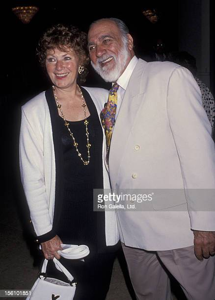Actress Marion Ross and Paul Michael attending 17th Annual Women in Film Crystal Awards Luncheon on June 11 1993 at the Beverly Hilton Hotel in...