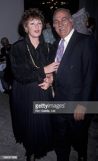Actress Marion Ross and Paul Michael attending 49th Annual Golden Apple Awards on December 10 1989 at the Beverly Hilton Hotel in Beverly Hills...