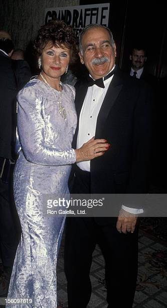 Actress Marion Ross and Paul Michael attending Fifth Annual American Cinematheque Awards Ball on March 24 1990 at the Century Plaza Hotel in Century...