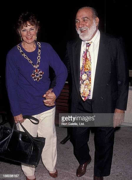 Actress Marion Ross and Paul Michael attending 'Gala Honoring Bobby Hoffman' on November 23 1991 at 2020 Club in Century City California