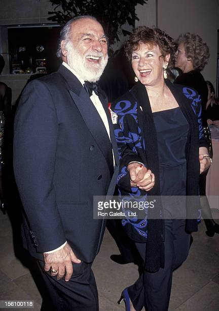 Actress Marion Ross and Paul Michael attending Seventh Annual American Society of Cinematographers Awards on February 21 1993 at the Beverly Hilton...