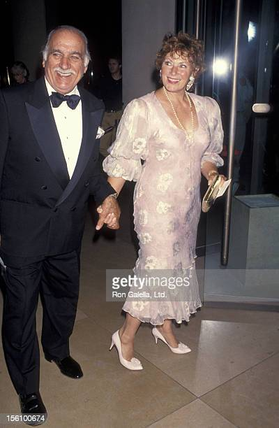 Actress Marion Ross and Paul Michael attending the taping of 'Comedy Hall of Fame' on August 29 1993 at the Beverly Hilton Hotel in Beverly Hills...
