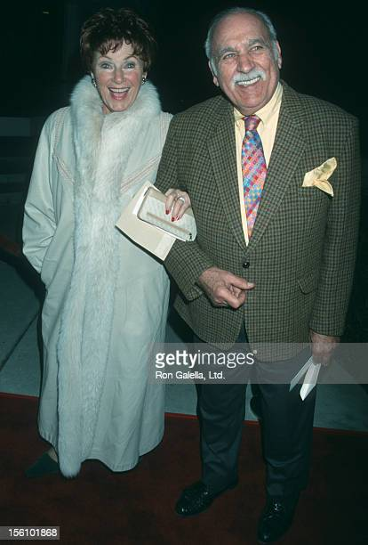 Actress Marion Ross and Paul Michael attending the world premiere of 'A Beautiful Mind' on December 13 2001 at the Academy Theater in Beverly Hills...