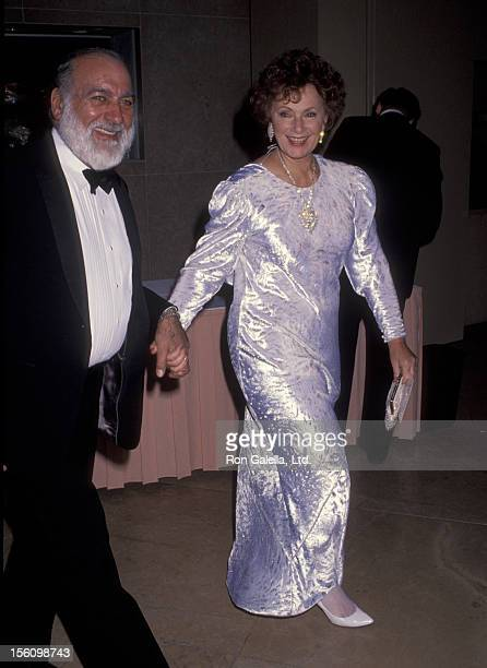 Actress Marion Ross and Paul Michael attending Third Annual Fire and Ice Ball Benefit on December 2 1992 at the Beverly Hilton Hotel in Beverly Hills...