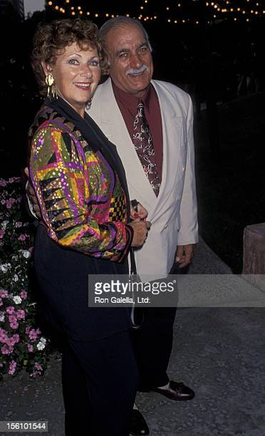 Actress Marion Ross and Paul Michael attending Third Annual Reception for Emmy Nominees on September 13 1993 at the Westwood Marquis Hotel in...