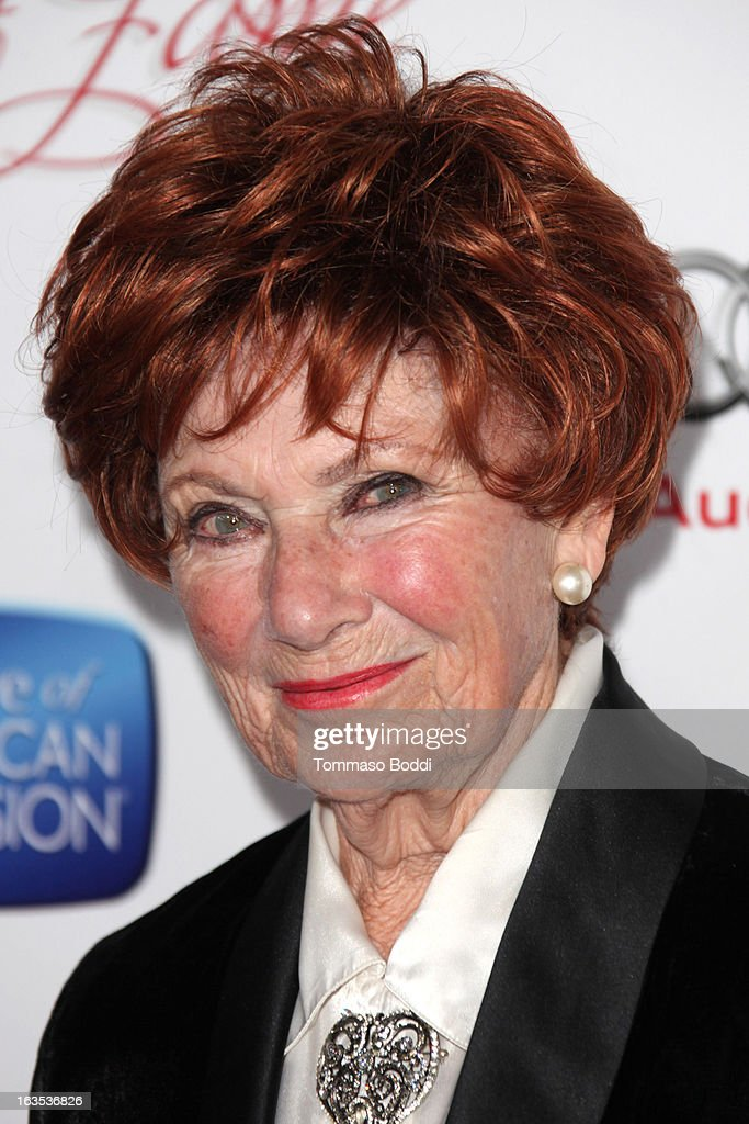 Actress Marion Ross attends the Television Academy's 22nd Annual Hall Of Fame Induction Gala held at The Beverly Hilton Hotel on March 11, 2013 in Beverly Hills, California.