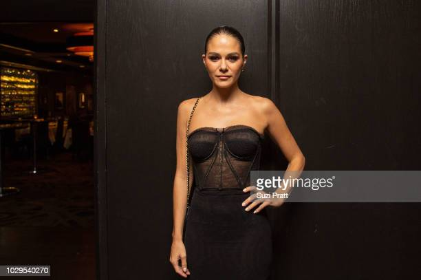 Actress Maripier Morin poses for a photo at the Sony Pictures Classics TIFF Celebration Dinner at Morton's on September 8, 2018 in Toronto, Canada.