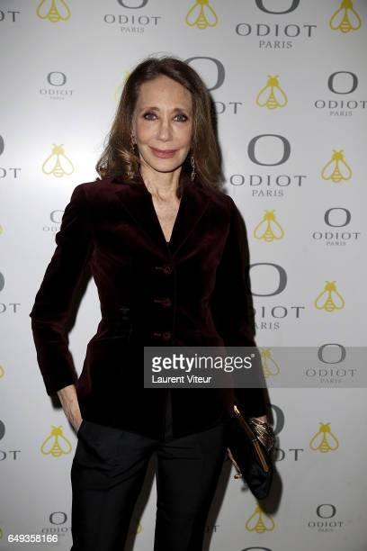 Actress Marisa Berenson attends Dessiner L'Or et L'Argent Odiot Orfevre Exhibition Launch at Musee Des Arts Decoratifs on March 7 2017 in Paris France