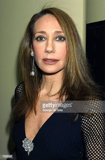 Actress Marisa Berenson attends the Christopher Awards which affirms the highest values of the human spirit in the media reception February 28 2002...