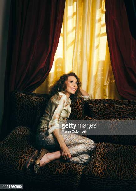 Actress Marisa Berenson poses for a portrait on November, 2018 in Paris, France.