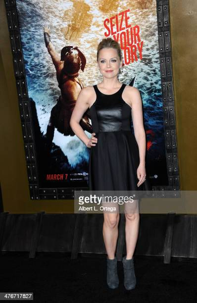 Actress Marisa Coughlan arrives for the Premiere Of Warner Bros Pictures And Legendary Pictures' '300 Rise Of An Empire' held at TCL Chinese Theatre...